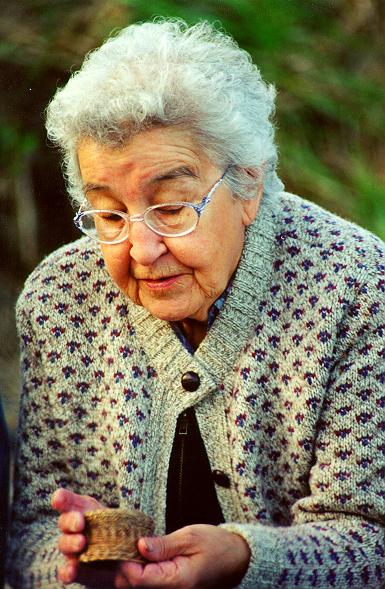 Nadia Mullan was an inspirational Alutiiq woman who loved her culture and was instrumental in its revitalization.