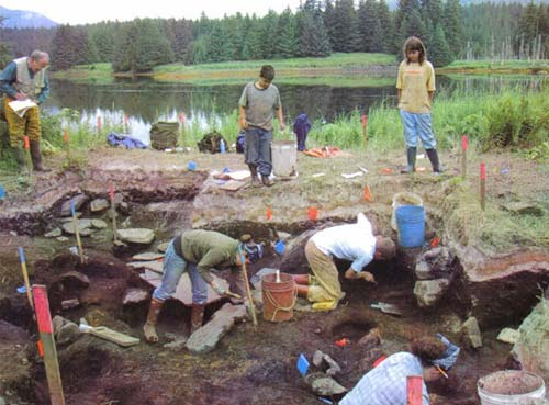 Native Village of Afognak :: Litnik Site 2001
