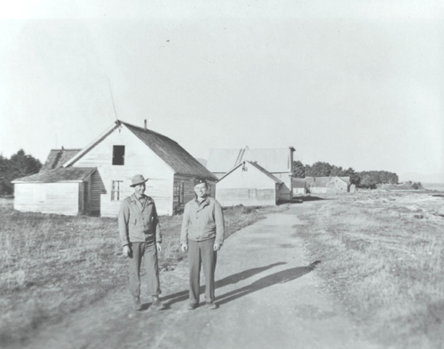 Afognak-VIllage-1943-two-guys.jpg
